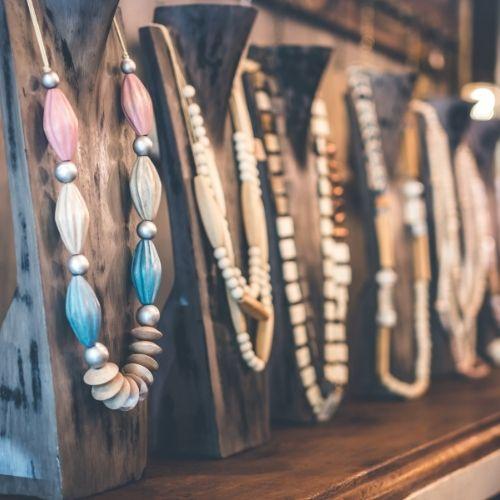 Kettingen op een hanger